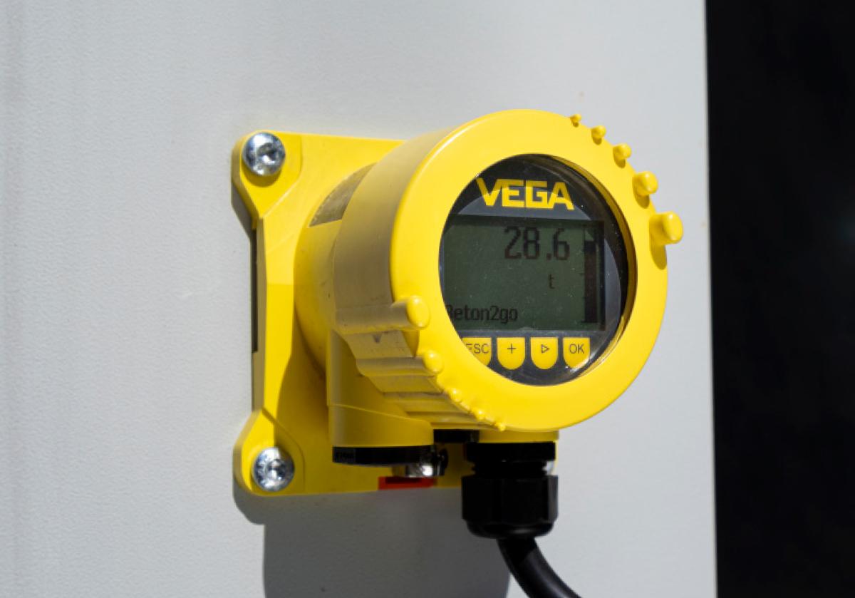 VEGA level indicator