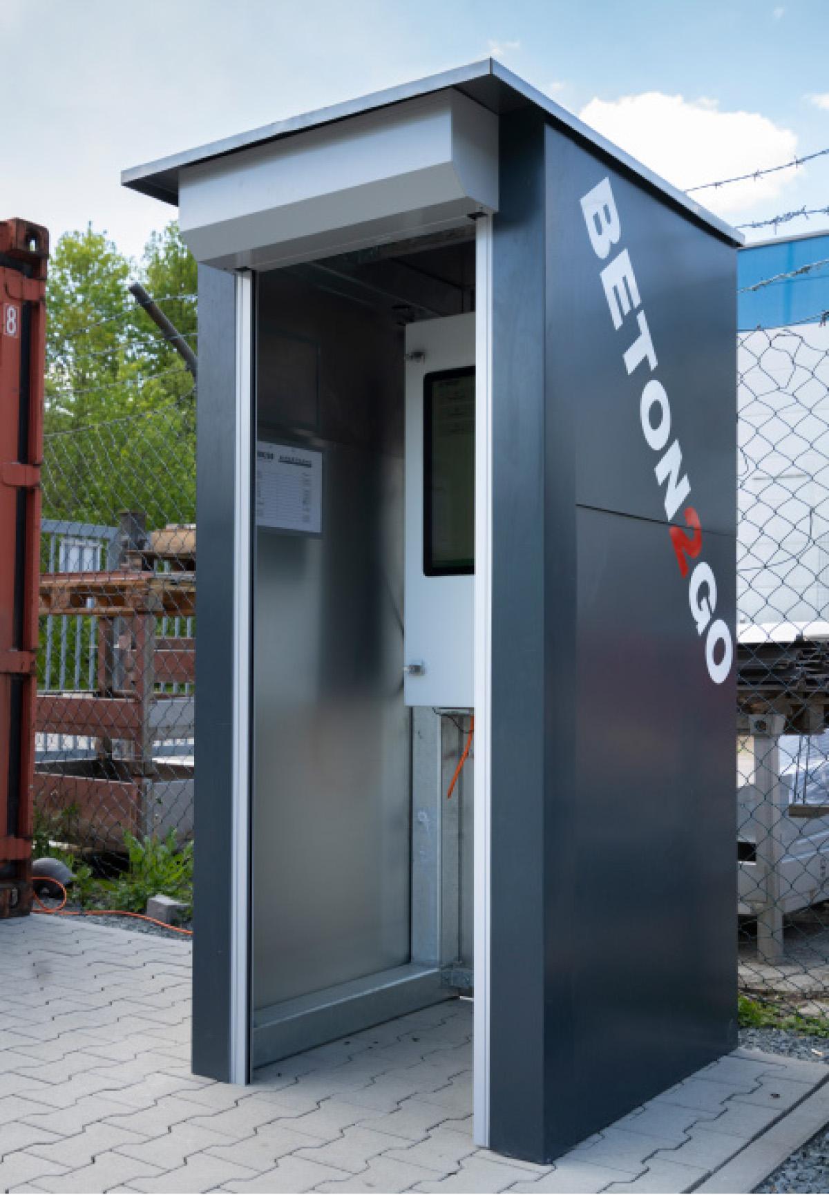 Baustoff-Kiosk
